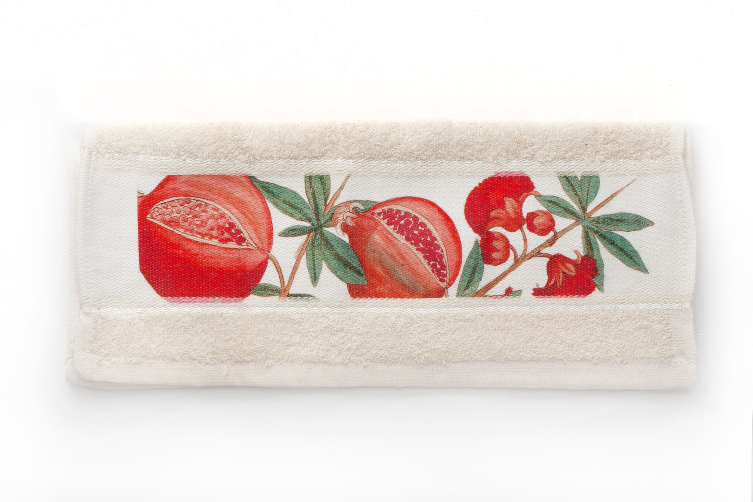 Pomegranate Flower Hand Towel